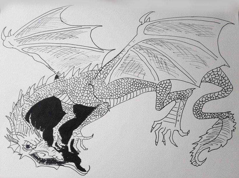 Mi Proyecto del curso: Técnicas de entintado para cómic e ilustración 3