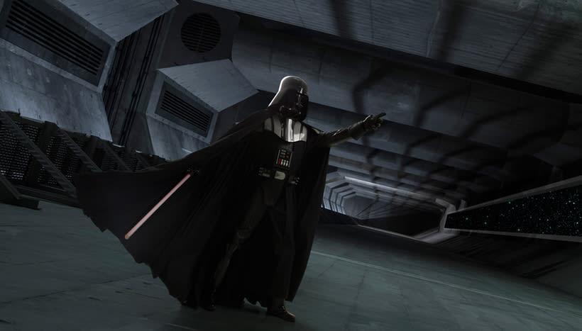 Darth Vader: Retoque fotográfico y efectos visuales con Photoshop 2