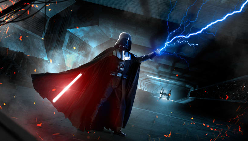 Darth Vader: Retoque fotográfico y efectos visuales con Photoshop 4