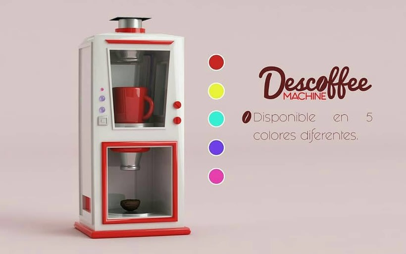 Descoffee Machine  3