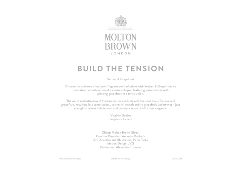 Molton Brown: Build The Tension 0