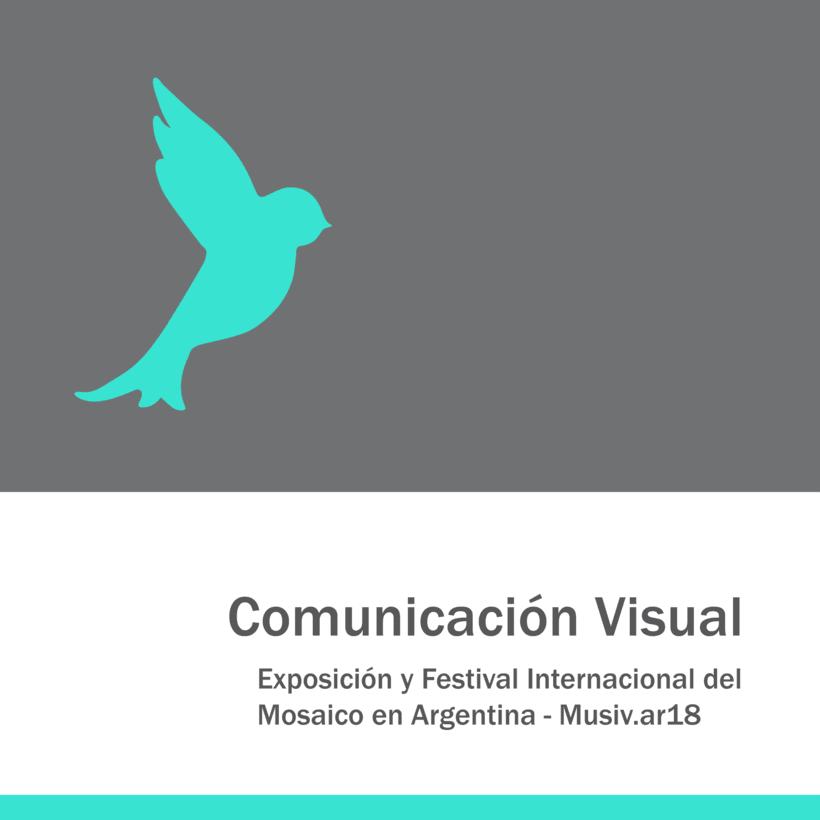 Comunicación Visual en la Exposición y Festival Internacional del Mosaico en Argentina 0