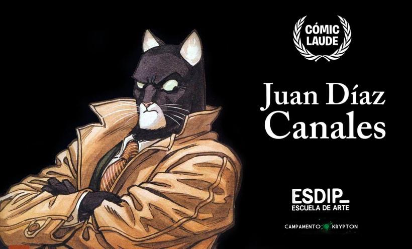 El guionista de Blacksad, Juan Díaz Canales en ESDIP 1