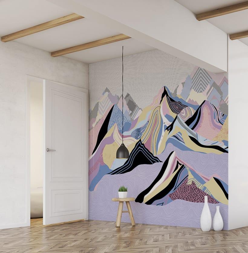Wallpaper Dream Mountains 0