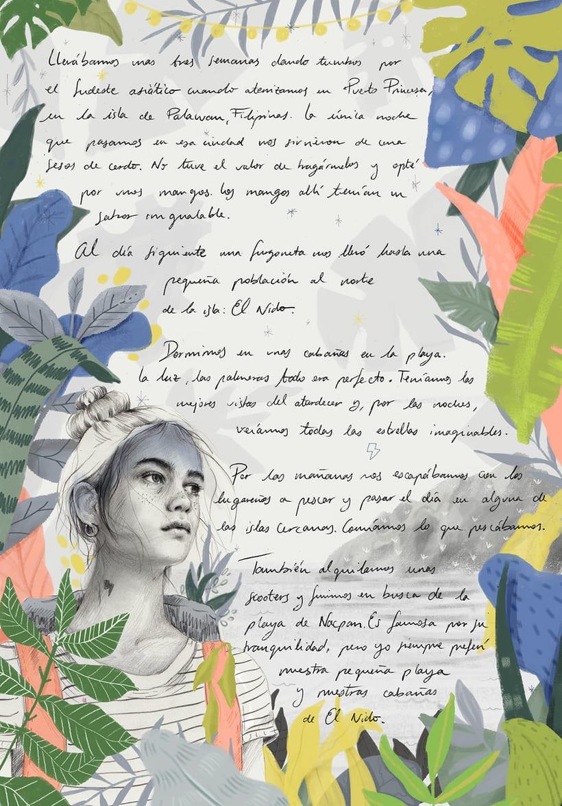 Ilustración para Condé Nast Viajes -1