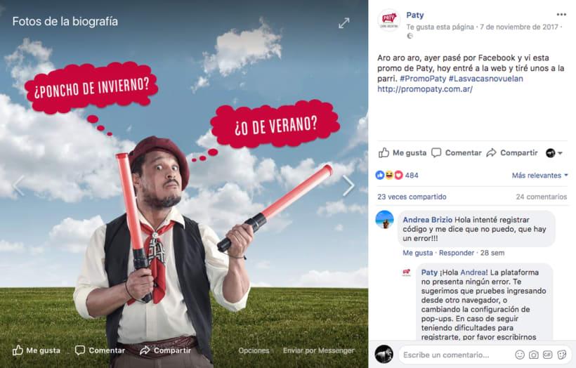 """Promo PATY """"Las Vacas No Vuelan"""" 8"""