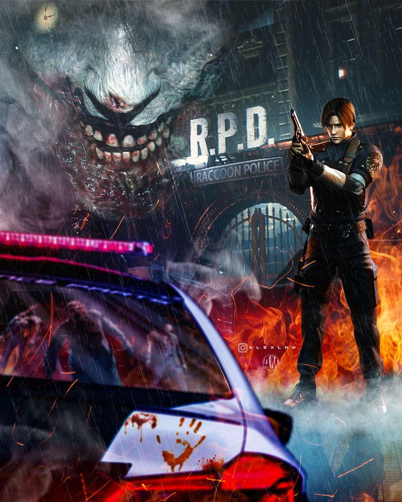 Resident Evil 2: Remake Fan Made Poster 0