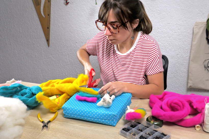 Proyectos de mi curso de Needle Felting en Domestika 7