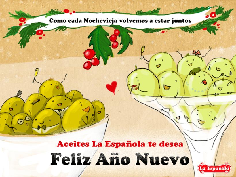 Campaña ilustración LA ESPAÑOLA ACEITES 5