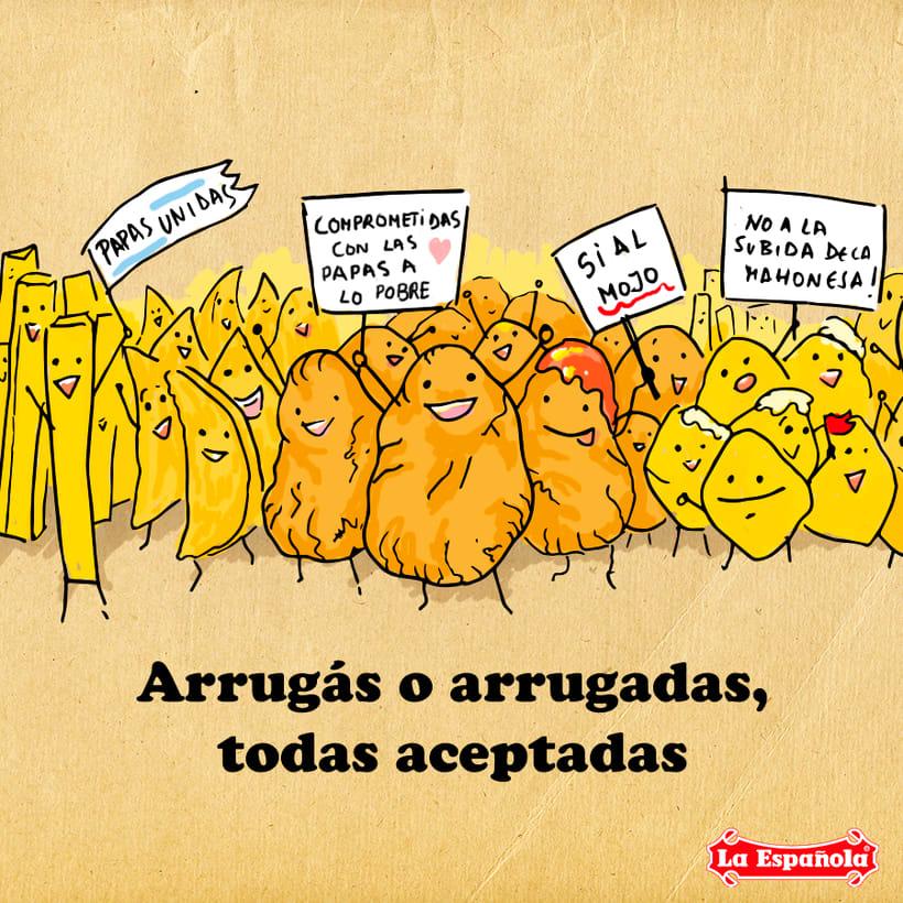 Campaña ilustración LA ESPAÑOLA ACEITES 6