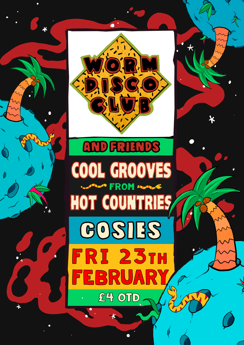 worm disco club posters 2017 5