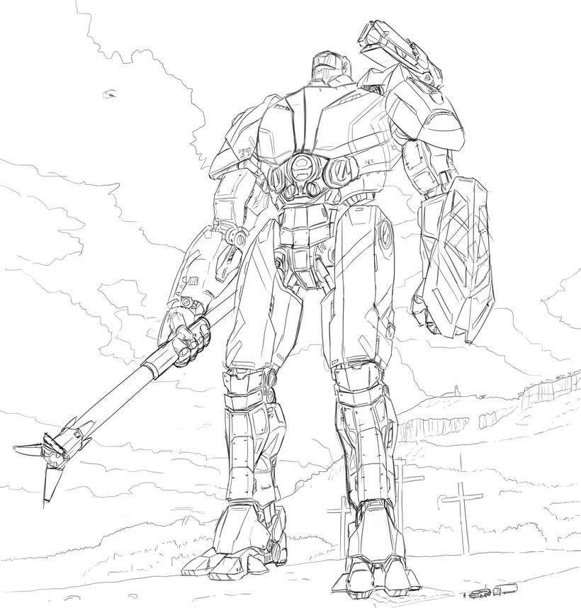 Santuario Atlas - Diseño de Jaeger 2
