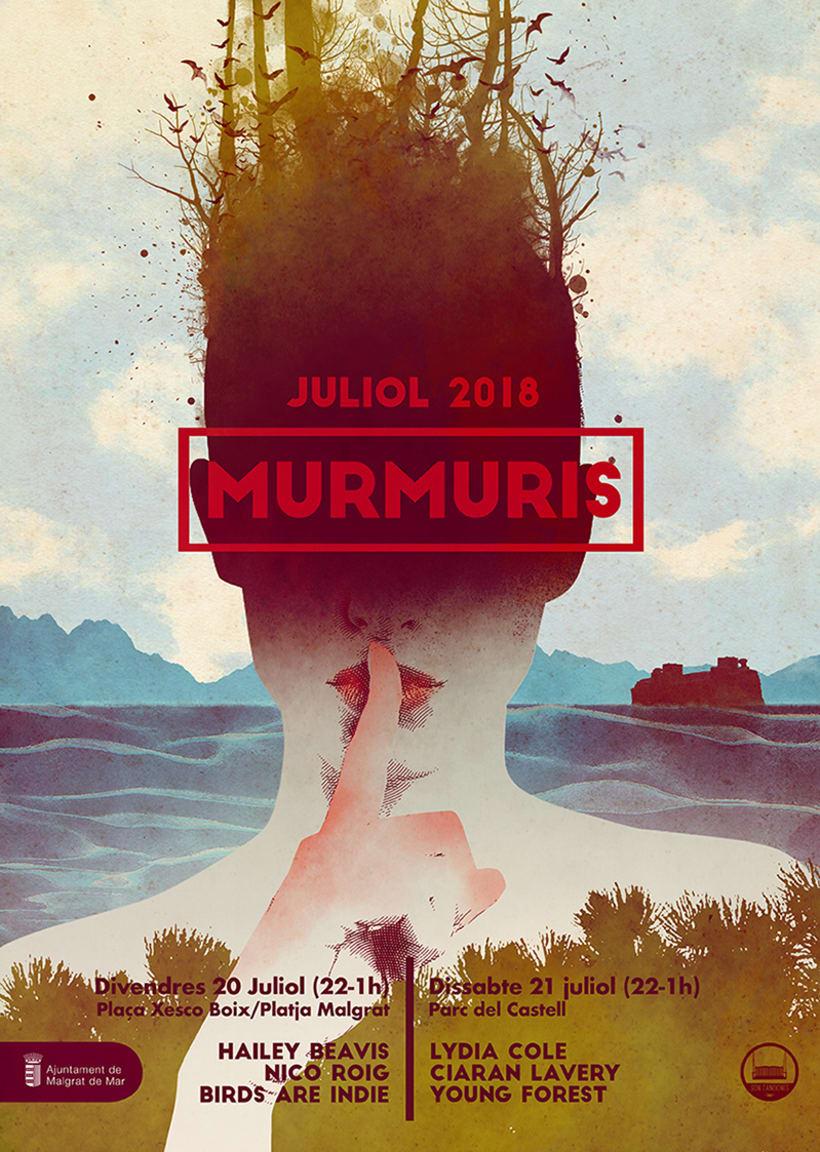 Cartel Festival Murmuris 0