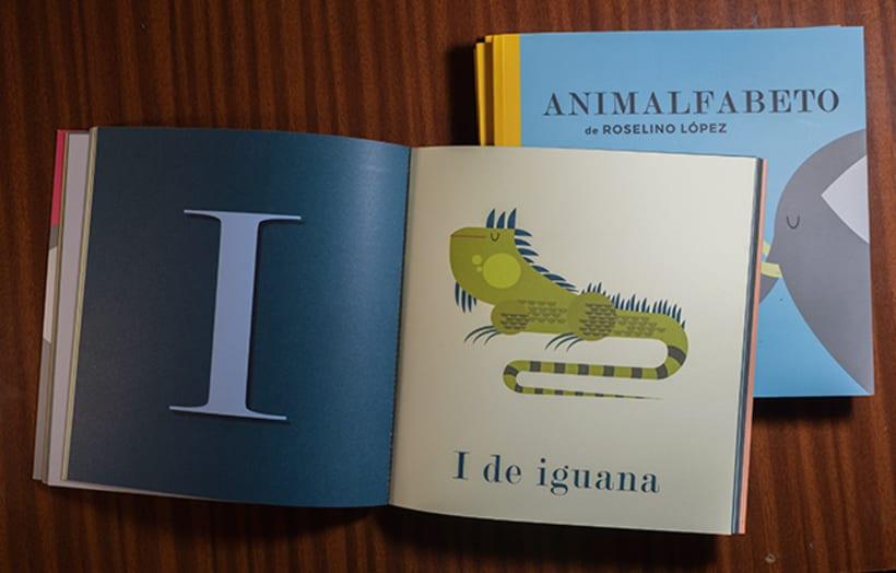 Animalfabeto. Libro para prelectores. 2