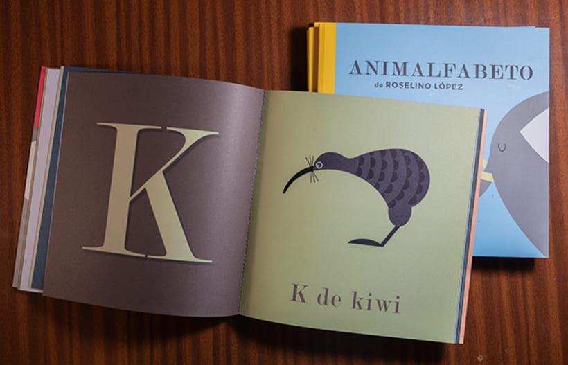 Animalfabeto. Libro para prelectores. 4