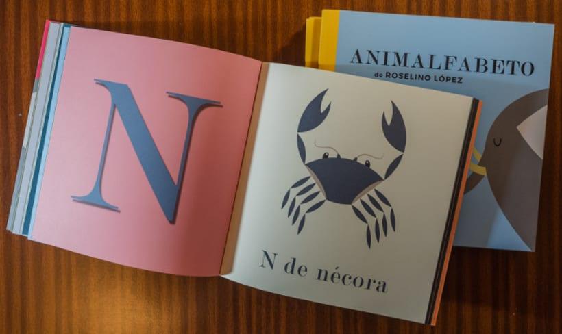 Animalfabeto. Libro para prelectores. 5