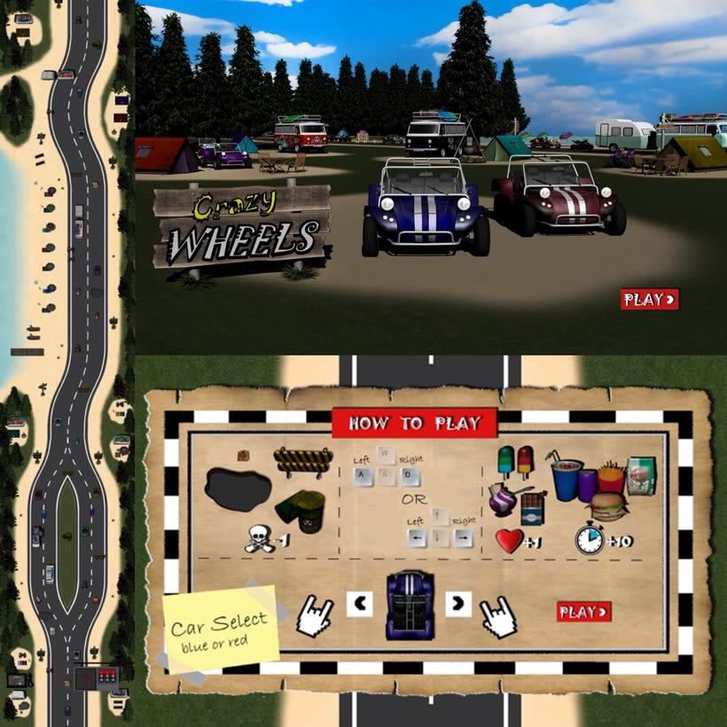 Crazy Wheels game 2