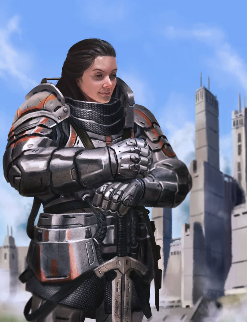 Knight Eude - Character Design 2