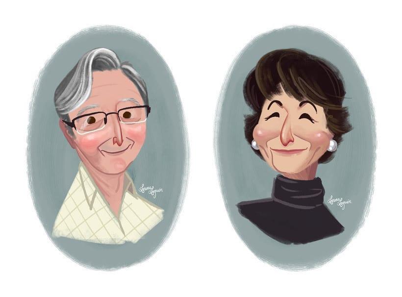 Família M. C. - Retratos 1