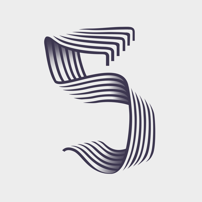 Numberism_36 Days Of Type #05 7