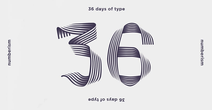 Numberism_36 Days Of Type #05 0