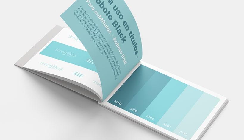 Branding e identidad corporativa - SmartBed Company 3