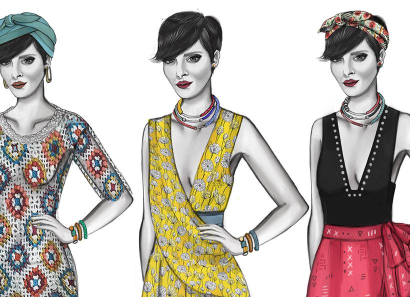 HIBISCUS- Propuesta de colección cápsula para Zara Woman SS2017 0