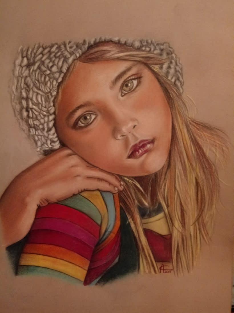 Mi Proyecto del curso: Ilustración con pastel y lápices de colores 7
