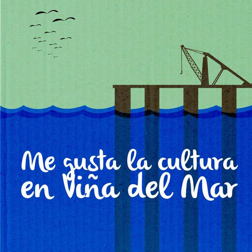 Viña del Mar, diseño e ilustraciónes desarrolladas para la Ilustre Municipalidad de Viña del Mar para la elaboración de imanes. 6