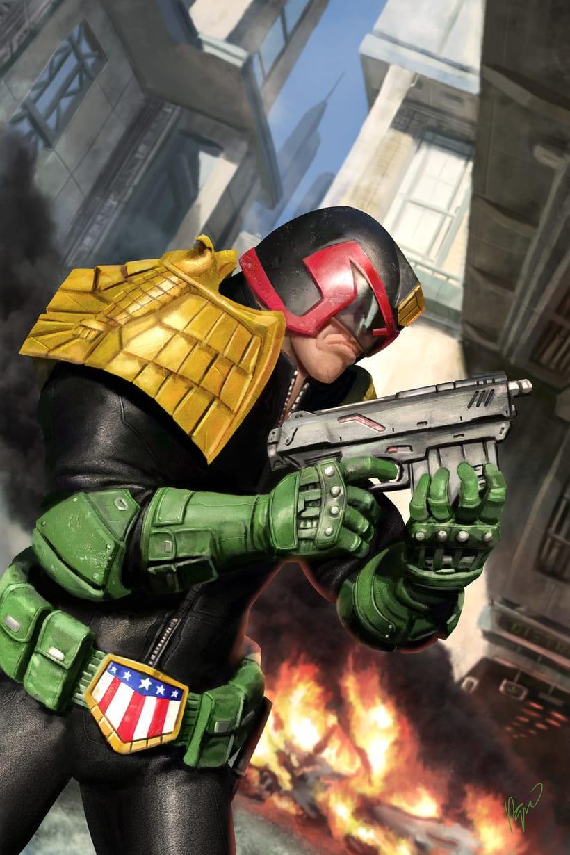 Judge Dredd - Cover 0