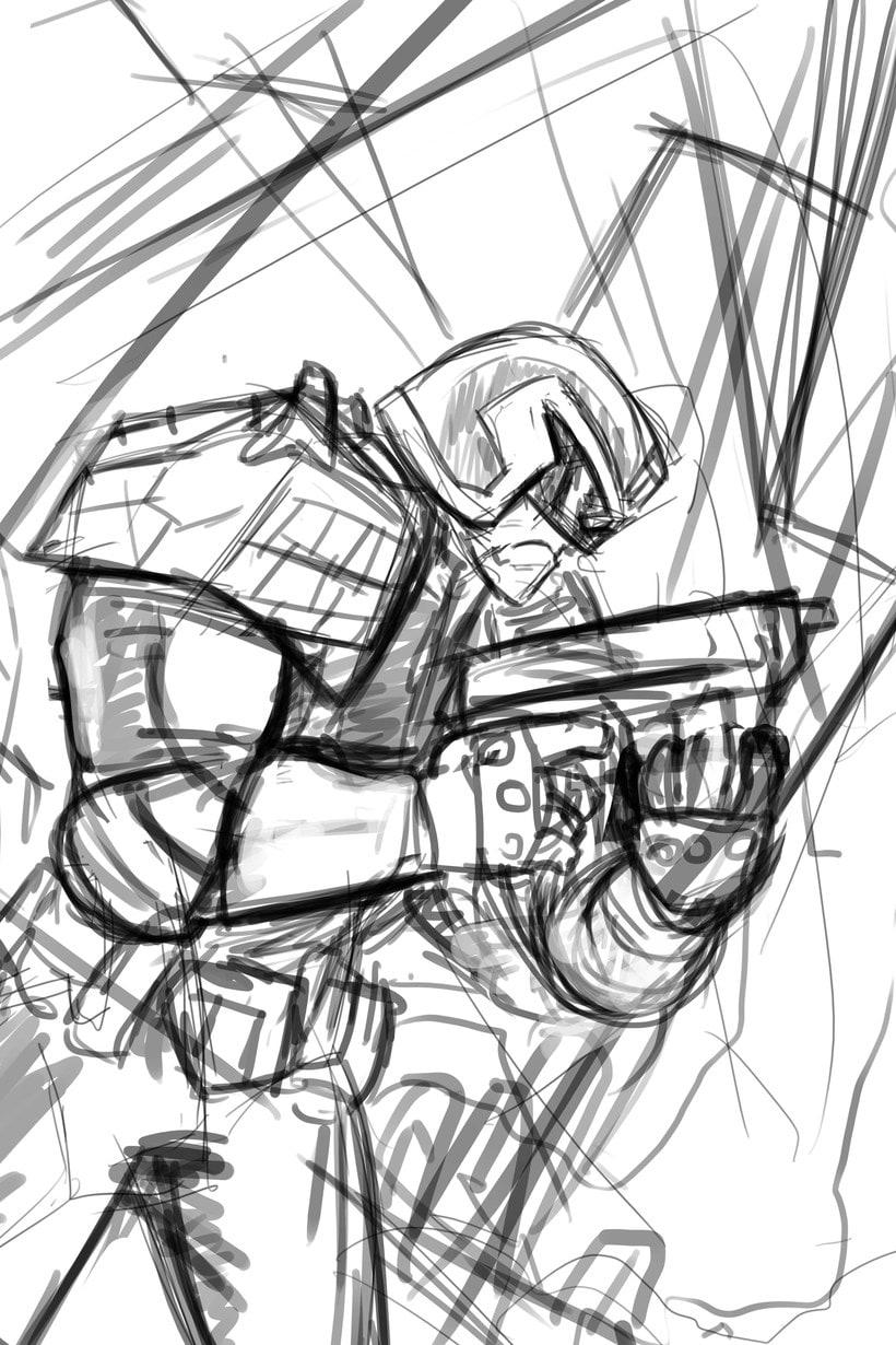 Judge Dredd - Cover 1