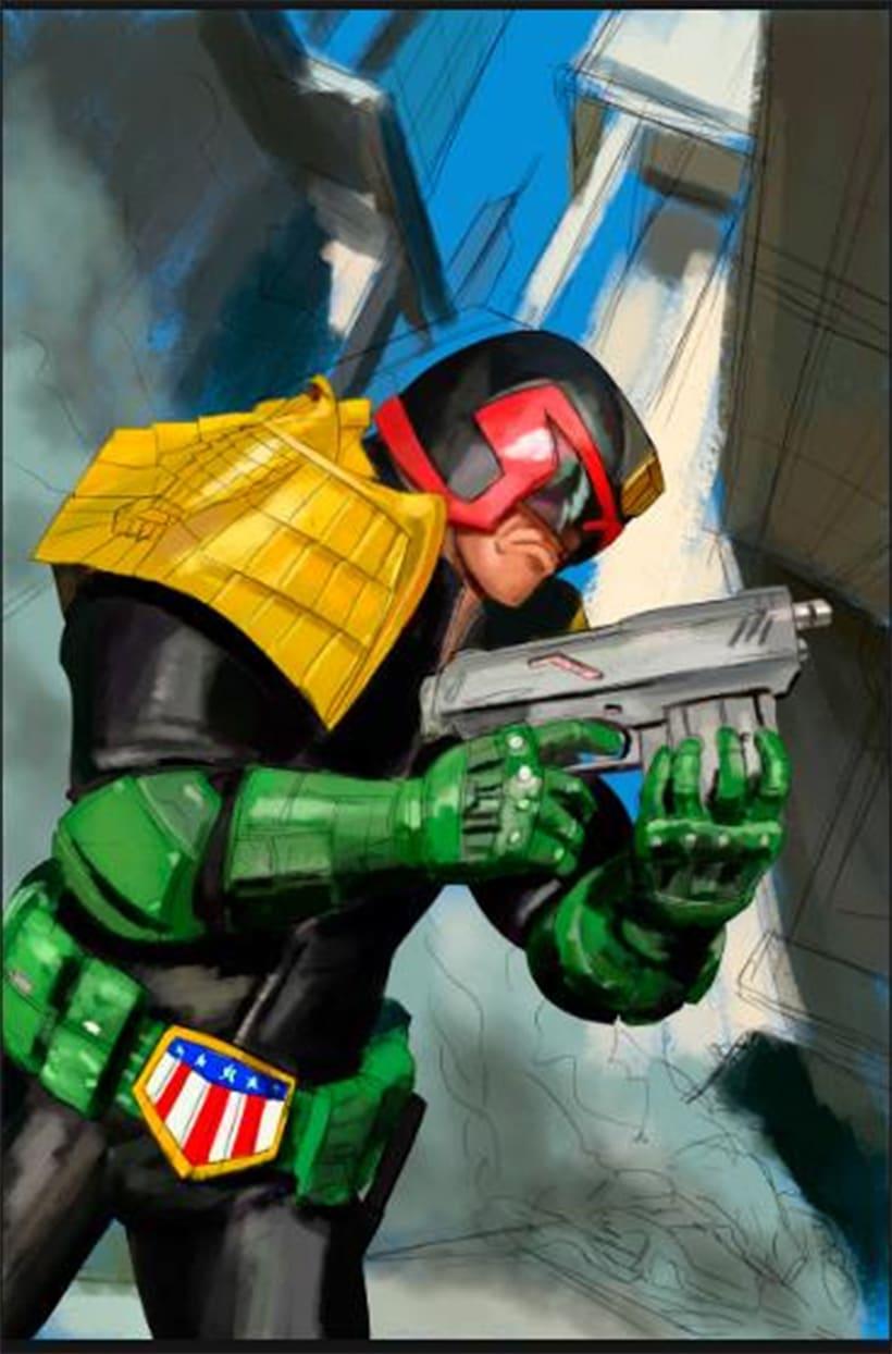 Judge Dredd - Cover 5