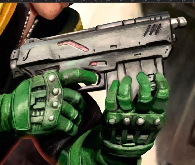 Judge Dredd - Cover 9