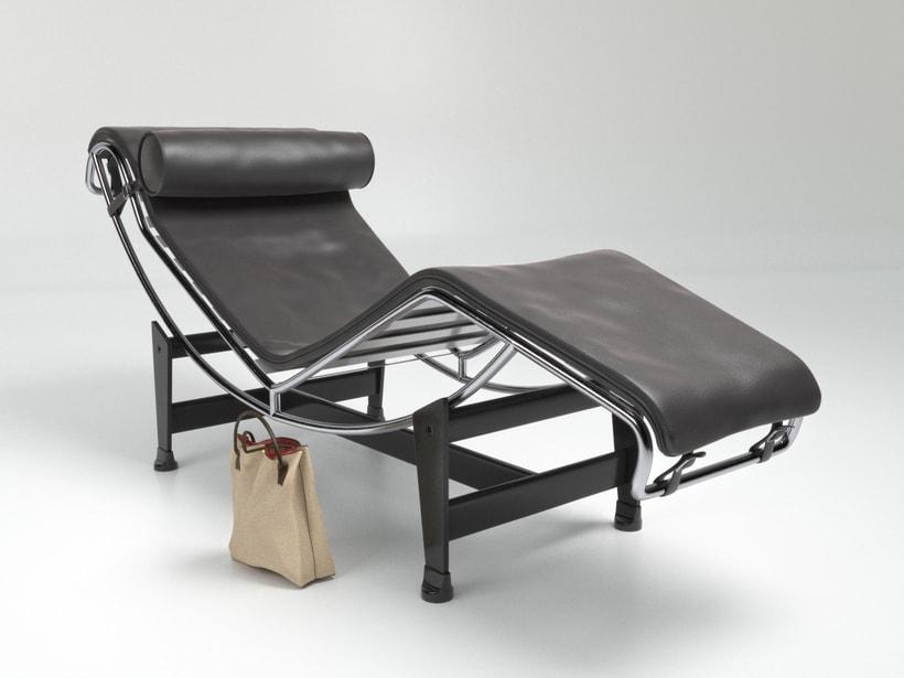 Le Corbusier, LC4 Chaise Longue 0