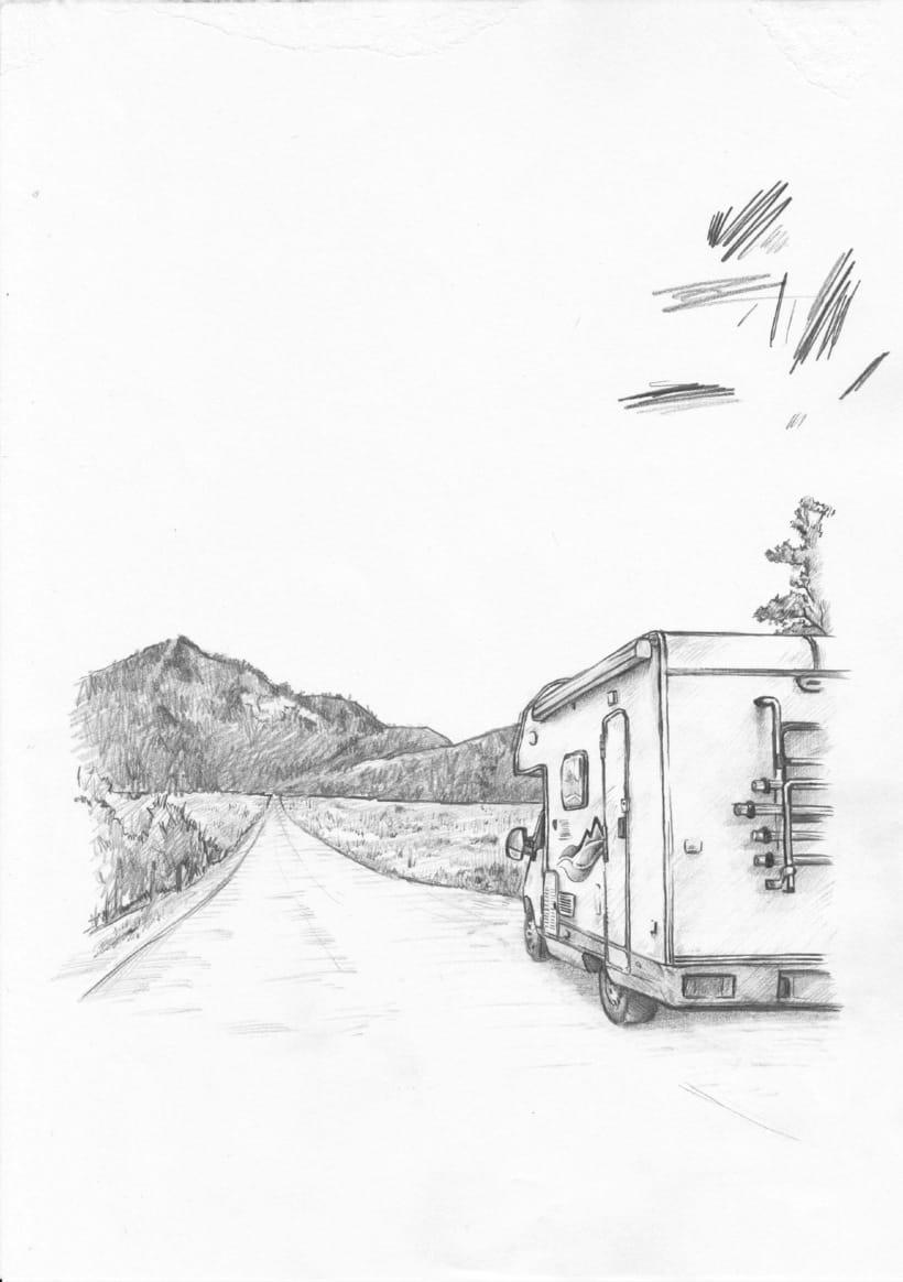 Le Tre Fontane • Book Cover Illustration 1