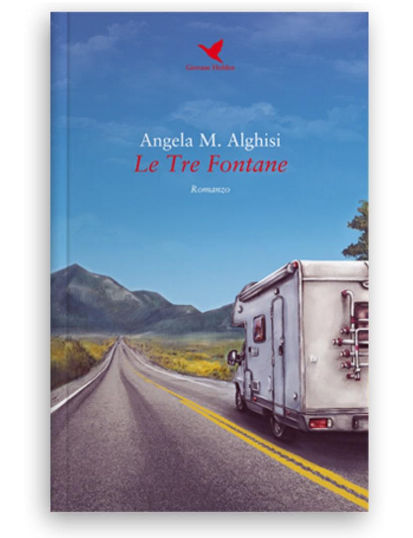 Le Tre Fontane • Book Cover Illustration 0
