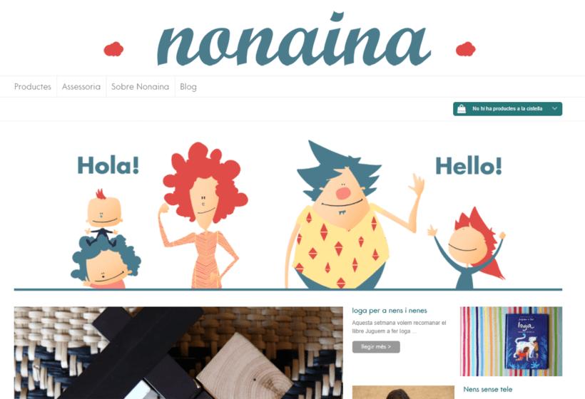 Nonaina.cat: redacción de contenidos web y redes sociales. 0