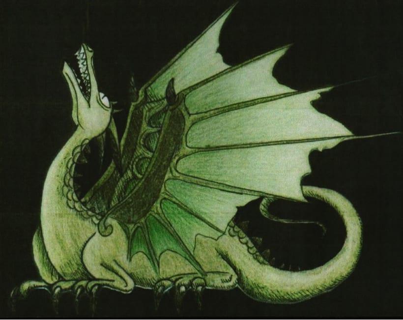 Dragon verde -1