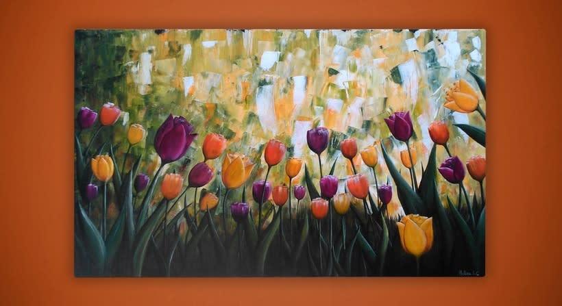 Jardín de Tulipanes 0