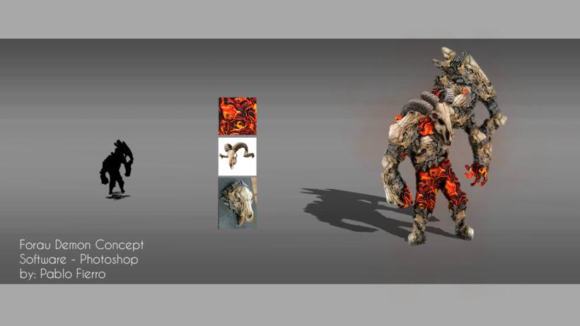 concept art character  - Forau Demon 0