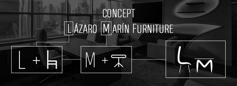 LM Furniture - Logotipo y Diseño Web/ Logo and Web Design 2