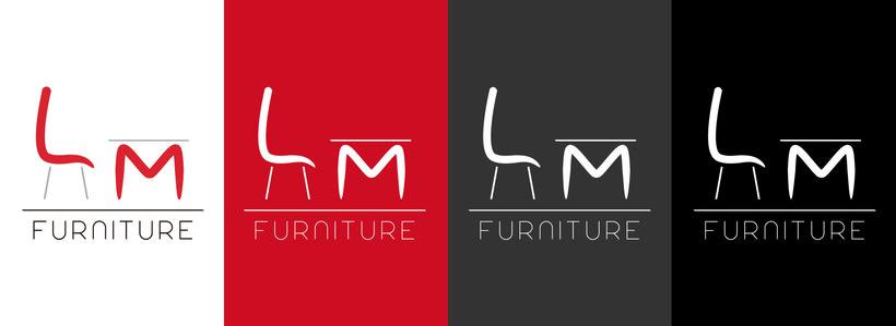 LM Furniture - Logotipo y Diseño Web/ Logo and Web Design 3
