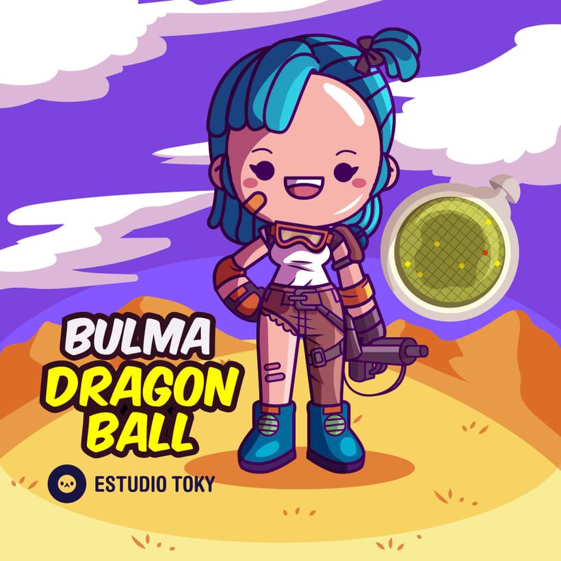 Bulma Dragon Ball 1