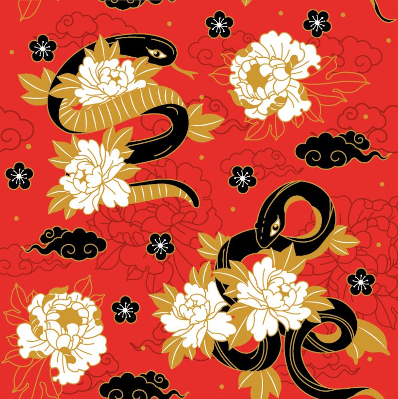 Japanese cranes & Sacred Snakes - Colombiamoda 2018 6