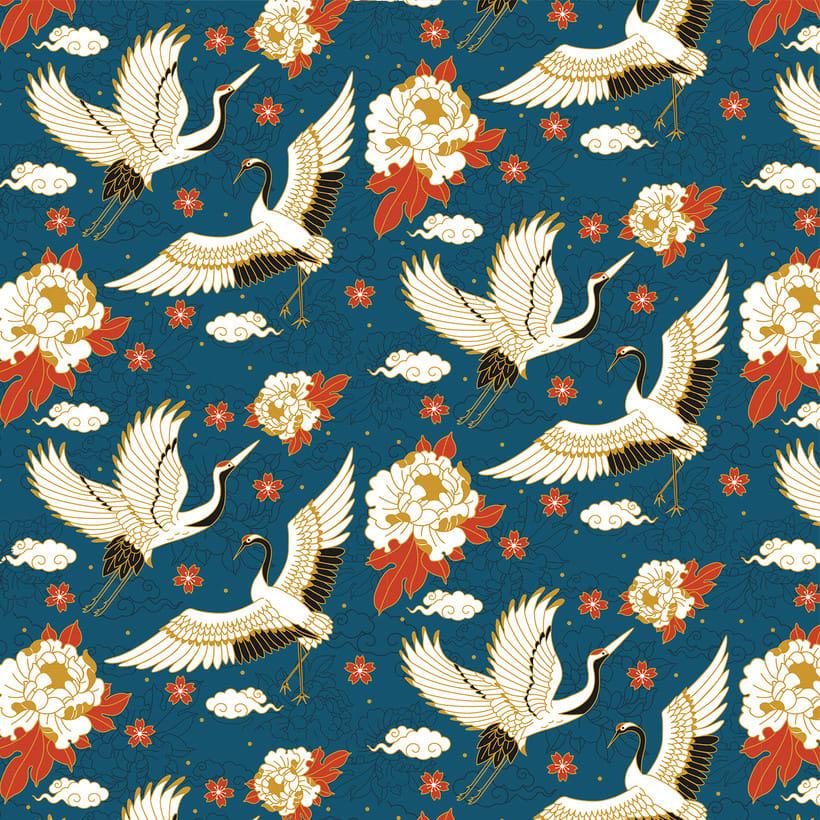 Japanese cranes & Sacred Snakes - Colombiamoda 2018 4