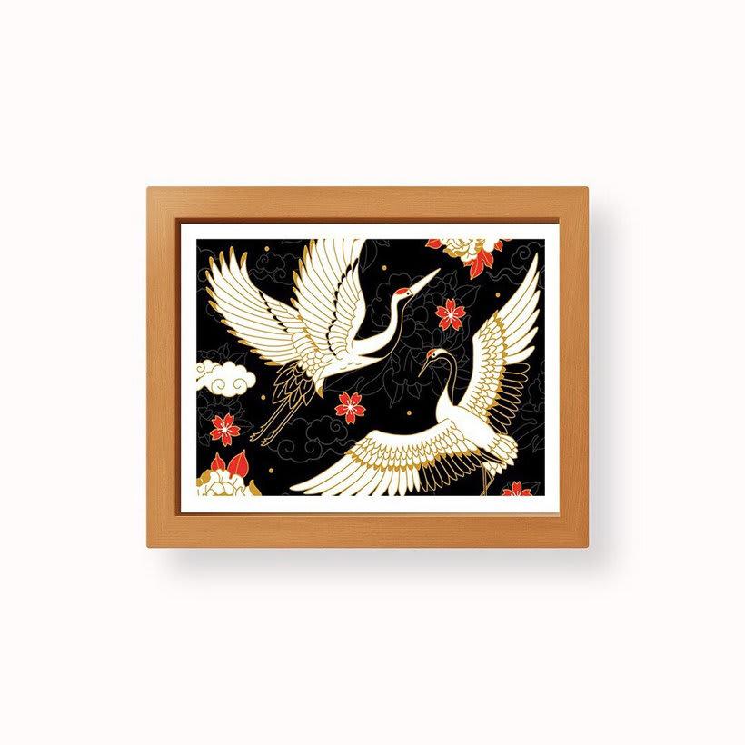 Japanese cranes & Sacred Snakes - Colombiamoda 2018 2