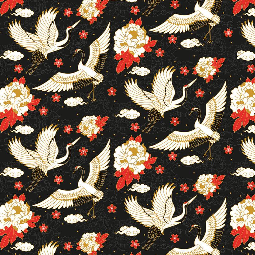 Japanese cranes & Sacred Snakes - Colombiamoda 2018 3