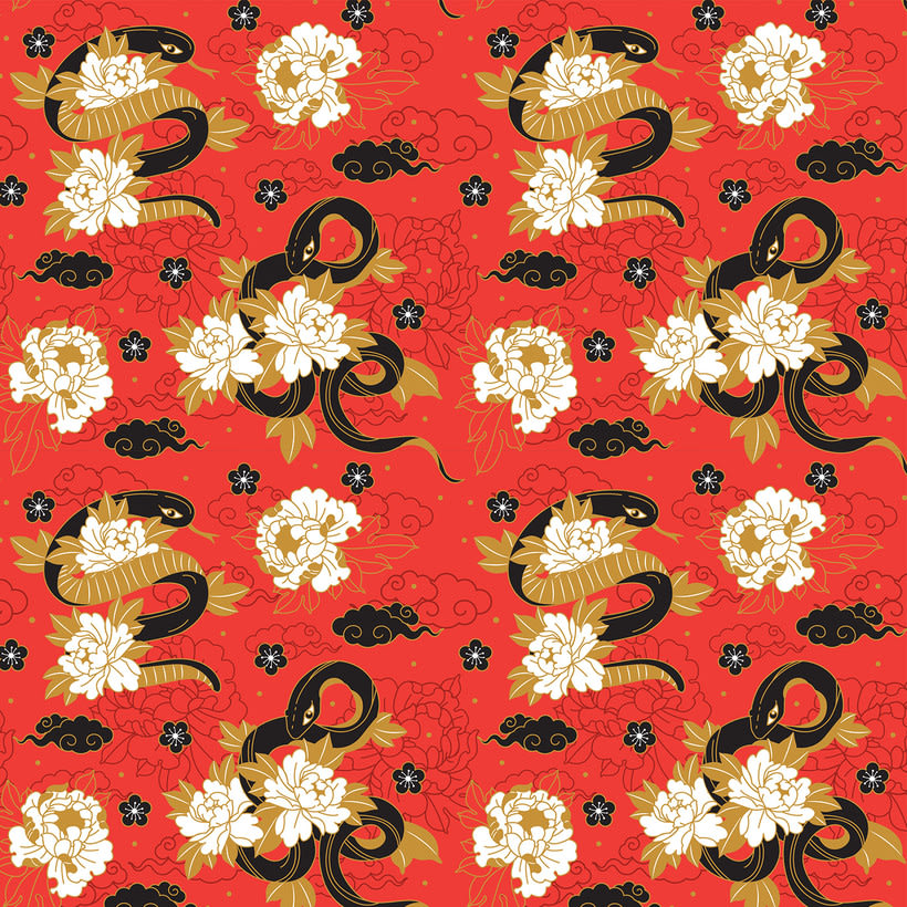Japanese cranes & Sacred Snakes - Colombiamoda 2018 9