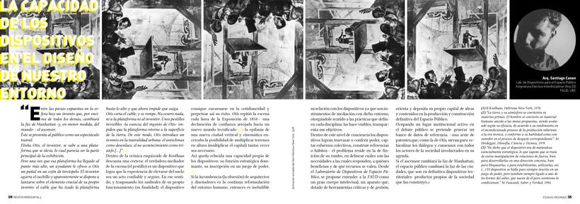 Diseño Editorial y Fotografía para Revista Modular 3