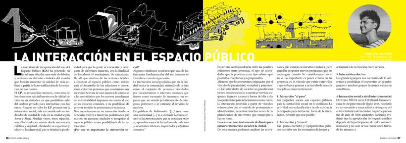 Diseño Editorial y Fotografía para Revista Modular 4